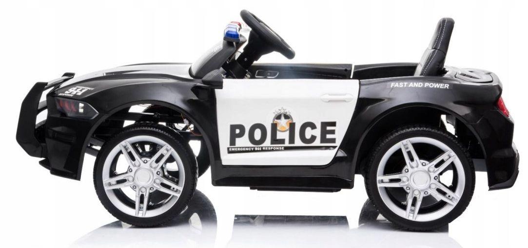 policja na akumulator