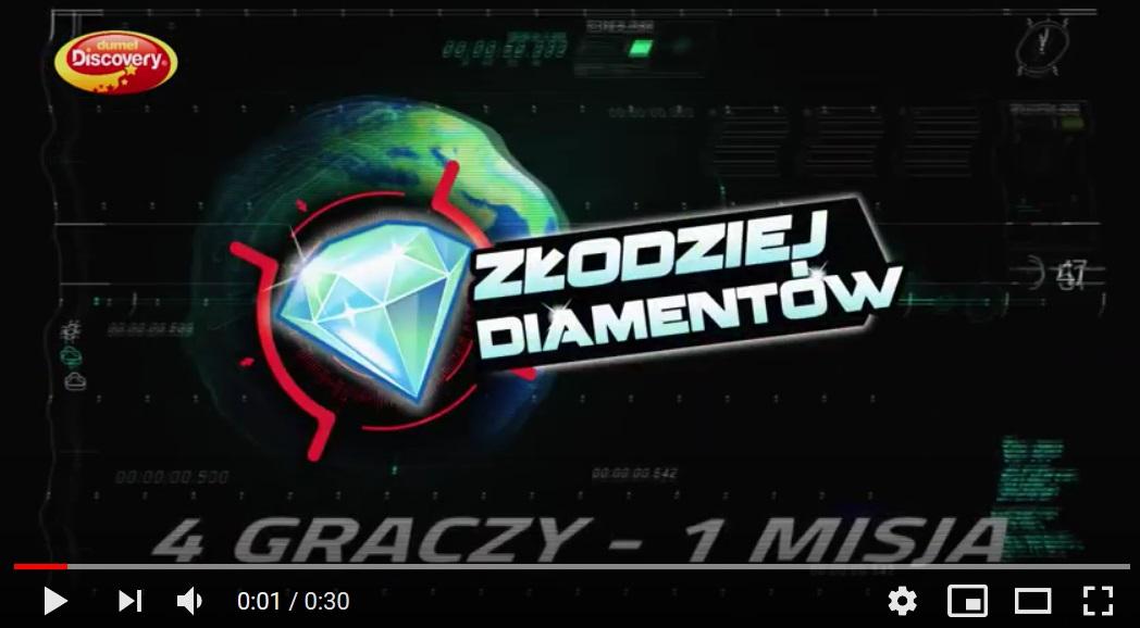 dumel Discovery Złodziej Diamentów