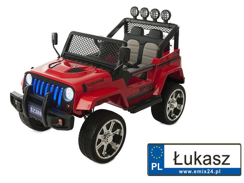 jeep na akumulator s2388 rejestracja