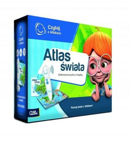 czytaj z albikiem atlas świata