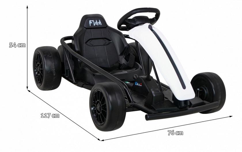 pojazd gokart Drift na akumulator
