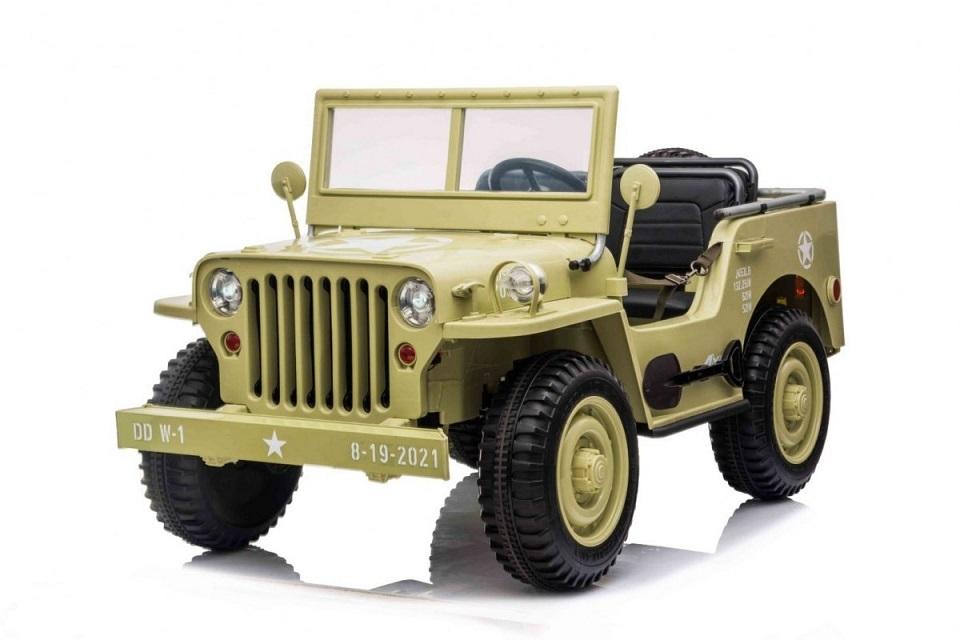 autko wojskowe retro